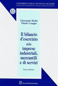 Libro Il bilancio d'esercizio delle imprese industriali, mercantili e di servizi Paolo Congiu , Giovanni Melis