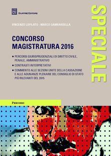 Nicocaradonna.it Speciale concorso magistratura 2016 Image