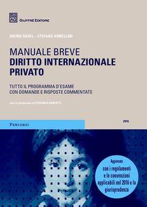 Libro Diritto internazionale privato Bruno Barel , Stefano Armellini