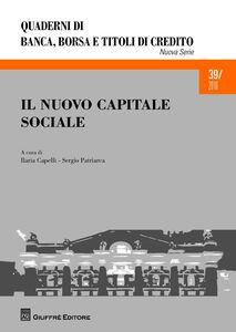 Foto Cover di Il nuovo capitale sociale, Libro di  edito da Giuffrè