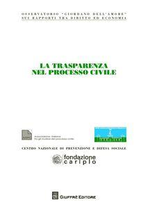 Libro La trasparenza nel processo civile