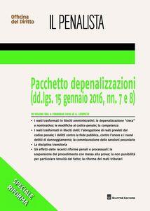 Libro Le depenalizzazioni Alessandro Leopizzi