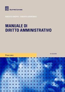Capturtokyoedition.it Manuale di diritto amministrativo Image
