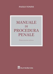 Nicocaradonna.it Manuale di procedura penale Image