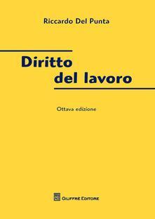 Diritto del lavoro - Riccardo Del Punta - copertina