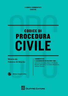Codice civile e di procedura civile. Con aggiornamento online - copertina