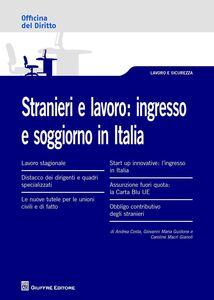 Libro Stranieri e lavoro. L'ingresso e soggiorno in Italia Andrea Costa , Giovanni Maria Guidone , Caroline Macrì Gianoli