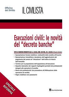 Esecuzioni civili: le novità del «decreto banche» - Rosaria Giordano - copertina