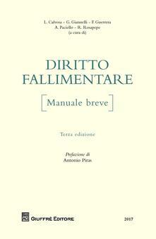 Associazionelabirinto.it Diritto fallimentare. Manuale breve Image