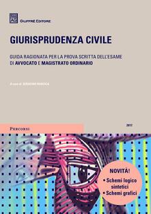 Giurisprudenza civile 2017 - copertina
