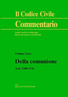 Voluntariadobaleares2014.es Della comunione. Artt. 1100-1116 Image