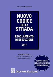 Nuovo codice della strada e regolamento di esecuzione. Schemi e tabelle - copertina