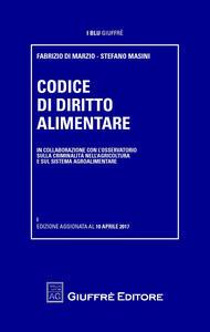 Codice di diritto alimentare