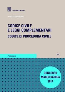 Daddyswing.es Codice civile e leggi complementari. Codice di procedura civile. Concorso magistratura Image