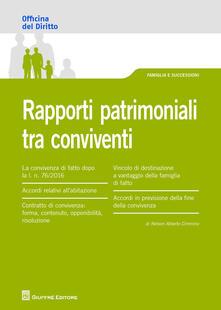 Camfeed.it Rapporti patrimoniali tra conviventi Image