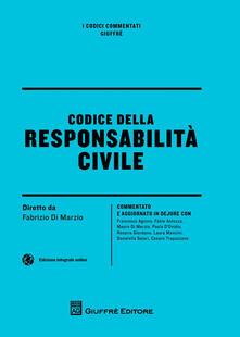 Codice della responsabilità civile - copertina