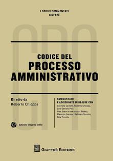 Codice del processo amministrativo commentato - copertina