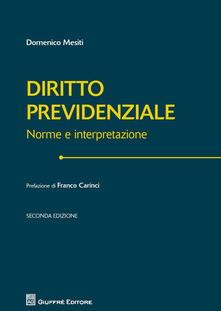 Milanospringparade.it Manuale di diritto previdenziale Image