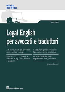 Camfeed.it Legal english per avvocati e traduttori Image