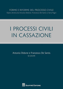 I processi civili in Cassazione - copertina