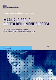 Voluntariadobaleares2014.es Diritto dell'Unione europea. Manuale breve. Tutto il programma d'esame con domande e risposte commentate Image
