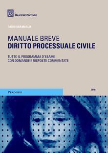 Collegiomercanzia.it Diritto processuale civile. Manuale breve Image