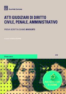 Voluntariadobaleares2014.es Atti giudiziari di diritto civile, penale, amministrativo. Prova scritta esame avvocato Image