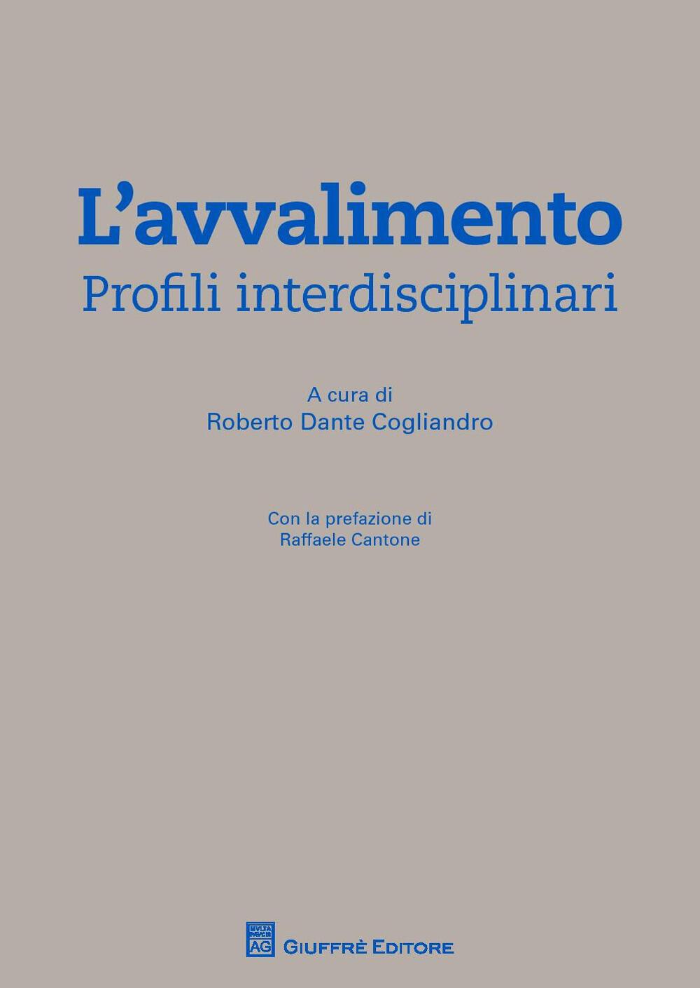 """Risultati immagini per libro """"L'Avvalimento-Profili interdisciplinari"""""""