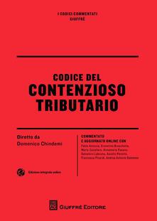 Codice del contenzioso tributario - copertina