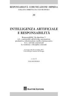 Intelligenza artificiale e responsabilità - copertina