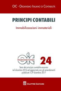 Principi contabili. Vol. 24: Immobilizzazioni immateriali.
