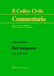 Tegliowinterrun.it Del trasporto. Artt. 1678-1702 Image