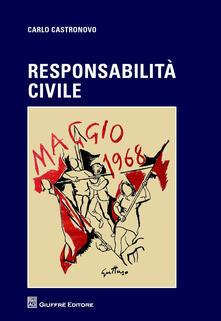 Responsabilità civile - Carlo Castronovo - copertina