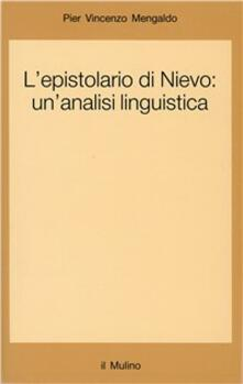 Capturtokyoedition.it L' epistolario di Nievo: un'analisi linguistica Image