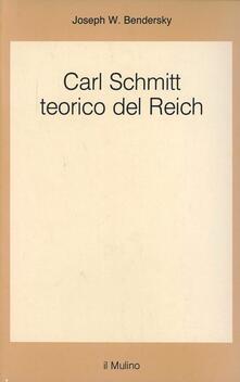 Ipabsantonioabatetrino.it Carl Schmitt teorico del Reich Image