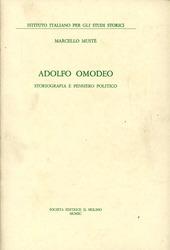 Adolfo Omodeo. Storiografia e pensiero politico