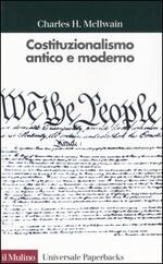 Costituzionalismo antico e moderno