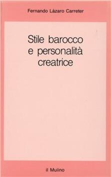 Vitalitart.it Stile barocco e personalità creatrice Image