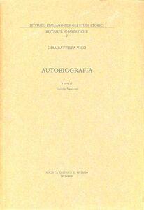 Libro Giambattista Vico. Autobiografia