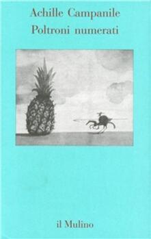 Poltroni numerati - Achille Campanile - copertina