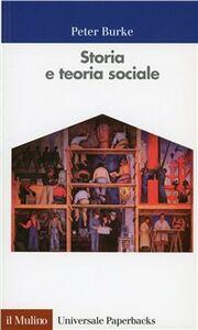 Libro Storia e teoria sociale Peter Burke