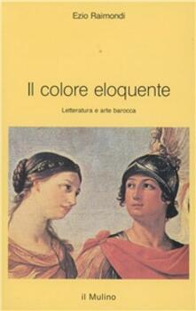 Charun.it Il colore eloquente. Letteratura e arte barocca Image
