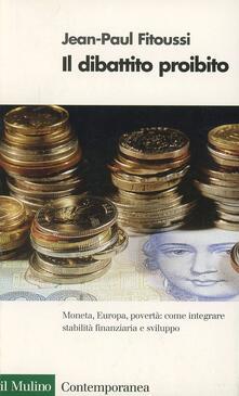 Winniearcher.com Il dibattito proibito. Moneta, Europa, povertà Image