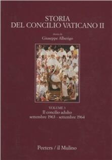 Storia del Concilio Vaticano II. Vol. 3: Il Concilio adulto. Il secondo periodo e la seconda intersessione (Settembre 1963-settembre 1964). - Giuseppe Alberigo - copertina