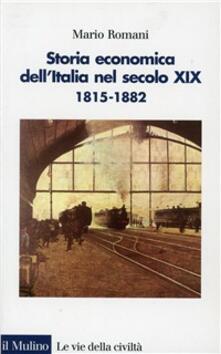 Winniearcher.com Storia economica dell'Italia nel secolo XIX (1815-1882) Image
