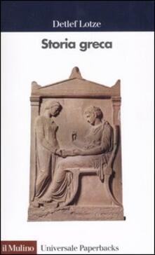 Letterarioprimopiano.it Storia greca. Dalle origini all'età ellenistica Image