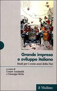 Grande impresa e sviluppo italiano. Studi per i cento anni della Fiat