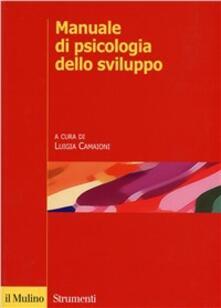 Manuale di psicologia dello sviluppo - copertina