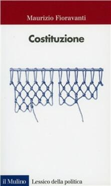 Costituzione - Maurizio Fioravanti - copertina