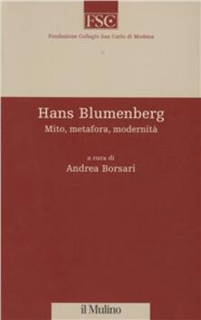 Winniearcher.com Hans Blumenberg. Mito, metafora, modernità Image